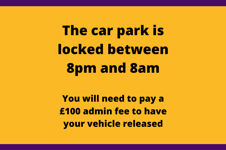 An image relating to Overnight vehicle release charge introduced at park