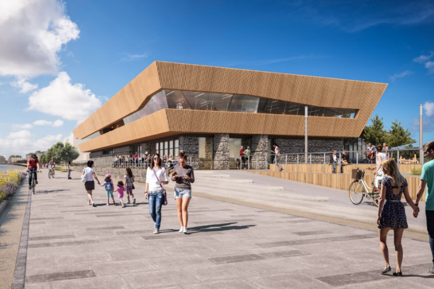 An image relating to Princes Parade scheme moves step closer to reality