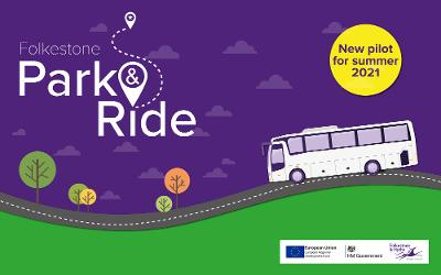 Folkestone Park and Ride banner